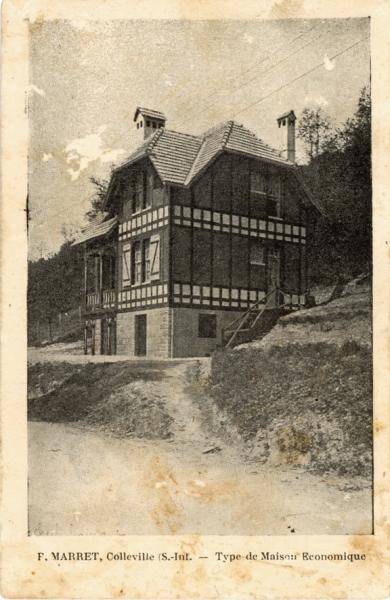 P. MARRET - Type de maison économique